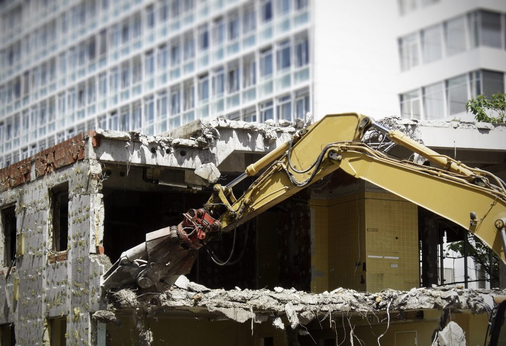 selective demolition, full demolition, demolition company