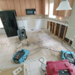 water damage cleanup equipment