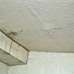 water intrusion in ceiling